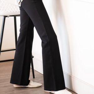 Betabrand Classic Straight Leg Dress Yoga …